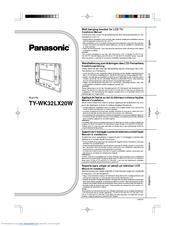 panasonic ty wk32lx20w manuals rh manualslib com User Manual User Guide Template