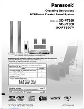 Panasonic sa-pt850 instruction manual uploadup.
