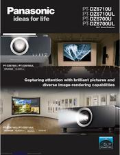 panasonic pt dz6700u dlp projector 1080p manuals rh manualslib com  panasonic pt-dz6700u manual
