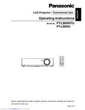 panasonic ptlb50u xga lcd projector manuals rh manualslib com panasonic projector manual pdf panasonic projector service manual