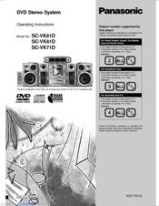 Panasonic Sa-vk90d инструкция - фото 7