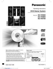 Panasonic Sa-vk90d инструкция - фото 6