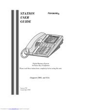 panasonic digital business system manuals rh manualslib com Panasonic Cordless Phone System Panasonic Kx User Manual 6841
