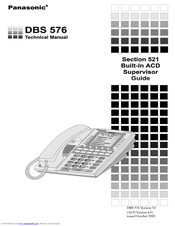 panasonic dbs 576 section 300 manuals rh manualslib com panasonic dbs 743e user manual panasonic dbs 743e user manual