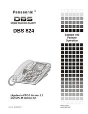Panasonic dbs analog systems manuals.