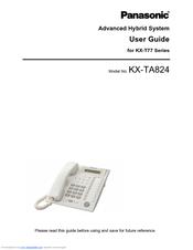 panasonic kx t7750 manuals rh manualslib com Panasonic Phone Manual User Guide panasonic kx-t7750 user manual