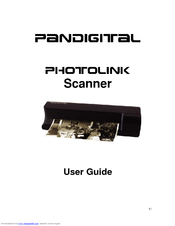 pandigital photolink scanner user manual pdf download rh manualslib com pandigital panscn08 handheld wand scanner manual pandigital handheld wifi wand scanner manual
