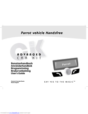 parrot ck3100 user manual pdf download rh manualslib com Parrot CK3100 Bluetooth Car Kit Preturi Parrot CK3100
