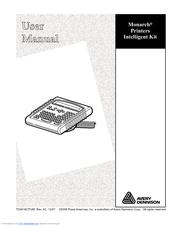 paxar monarch 9825 manuals rh manualslib com Paxar Corporation Avery Dennison Paxar