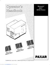paxar monarch 9855 operator s handbook manual pdf download rh manualslib com Raiza the Storm Monarch Monarch Printer 9825