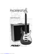 Peavey Axcelerator Series Operating Manual