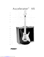 Peavey Axcelerator AX Operating Manual