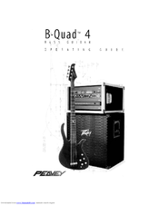 Peavey B-Quad 4 Operating Manual