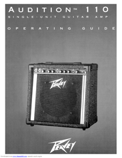 peavey audition 110 operating manual pdf download rh manualslib com