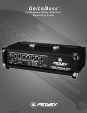 Peavey Deltabass Operating Manual