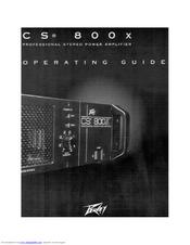 peavey cs 800x manuals rh manualslib com Peavey CS 1000 Peavey CS 1000
