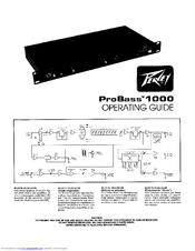 Download free pdf for peavey probass 1000 amp manual.