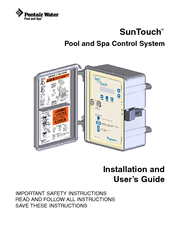 pentair suntouch manuals rh manualslib com pentair suntouch control system manual Pentair SunTouch Controller and Remote