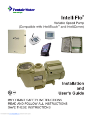 pentair variable speed pump intelliflo manuals rh manualslib com pentair intelliflo variable speed pump installation manual Pentair Pool Pump Manual