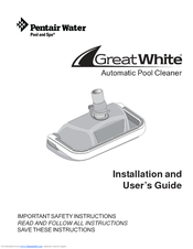 Pentair Pool Products GreatWhite GW9500 Manuals