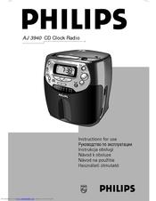 philips cd clock radio aj 3940 manuals rh manualslib com Philips Magnavox Color TV Magnavox Universal Remote Control Code