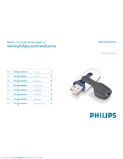Philips FM04FD20B/00 Manual