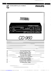 Philips CD960 User Manual