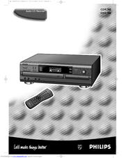 Philips CDR785 User Manual