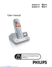 Philips Dect DECT 627 User Manual