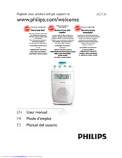 Philips AE2330 User Manual