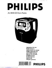 philips cd clock radio aj 3940 manuals rh manualslib com Magnavox Remote Control Programming Philips Magnavox Color TV