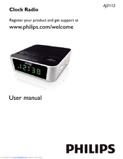 Philips AJ3112/12 User Manual