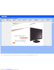 Philips 220SW9FB/27 Monitor Mac
