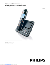Philips SE765 User Manual