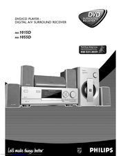 Philips MX1015D3799 Owner's Manual