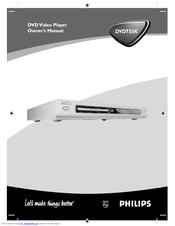 Philips DVD 733K/691 Owner's Manual