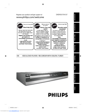 philips dvdr3575h 37 user manual pdf download rh manualslib com Philips Television Philips Universal Remote SRP2003 27 Manual
