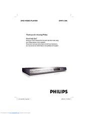 Dvd philips Dvp3120 Manual