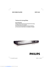 Philips DVP3126K/93 User Manual