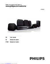 philips hts3181 manuals rh manualslib com Philips Blu-ray Home Theater Philips Blu-ray Home Theater