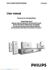 philips hts3410d manuals rh manualslib com Philips User Guides Speaker Bt7900 Philips Electronics Manuals