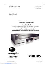 philips dvdr3512v user manual pdf download rh manualslib com Samsung DVD VCR Combo Troubleshooting Samsung DVD VCR Combo Troubleshooting