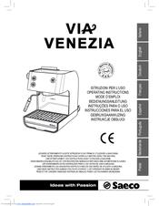 Saeco via venezia combi coffee maker download manual for free now.