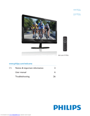 Philips 221TE2LB/00 Monitor Windows 8