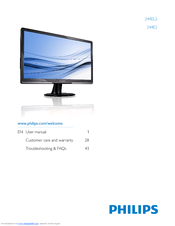 Philips 244E2SB/27 Monitor Descargar Controlador