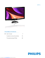 Philips 228C3LHSB/00 LCD Monitor Windows 8 Drivers Download (2019)