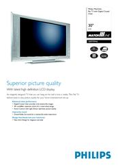 Philips 30PF9946 Brochure