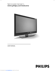 Philips 32PFL7772D/12 User Manual
