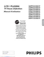 Philips 32PF7321D/37 Manuel D'utilisation