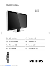 Philips 42PFL7623D User Manual